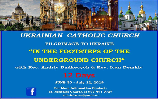 Pilgrimage to Ukraine 2019